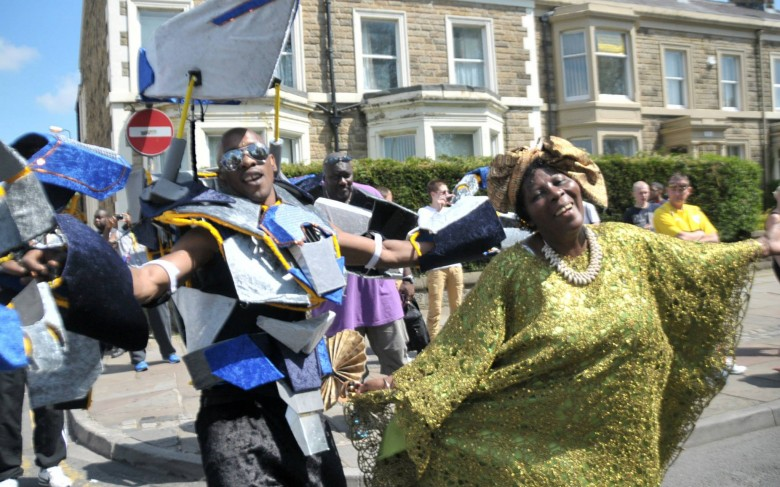 Emily Odudu from Rainbow and Hughbon Carter in Carnival 2013