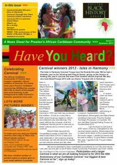 Have You Heard - Issue 3: Summer 2013